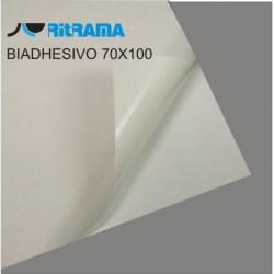 BIADHESIVO TRANSP. 2 CARAS 70x100