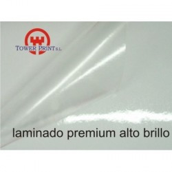 LAMINADO PREMIUM 80 MICRAS BRILLO 1.63 X 50,