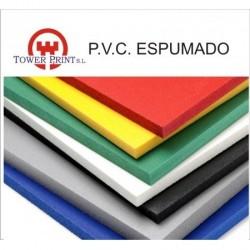 PVC ESPUMADO  5mm NEGRO 1560x3050