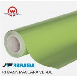 RI MASK MASCARA VERDE TRANSLUCIDA 126x50, bobina