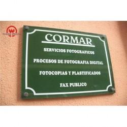 DIRECTORIO METACRL. 10mm. 300X200 C/PULIDO