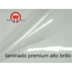 LAMINADO PREMIUM 80 MICRAS BRILLO 1.37 X 50,
