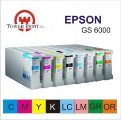 CARTUCHO TINTA EPSON GS6000 VERDE 950M.L.