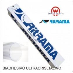 BIADHESIVO ULTRACRIST PP TRANSP.30MY 105x50,bobina
