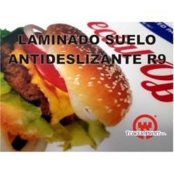 LAMINADO SUELOS FLOOR TALKERS 125 MICRAS R-9. 1.40 X 50 MTS