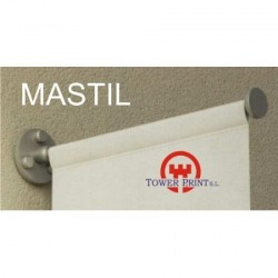 MASTIL DE PARED 75 CMS PARA LONA CON ACCESORIOS
